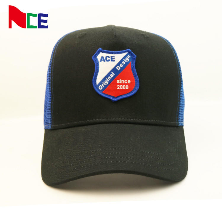 100% polyester mesh hat factory price distressed 5-panel mesh trucker cap baseball cap hat comfortable mesh sports cap