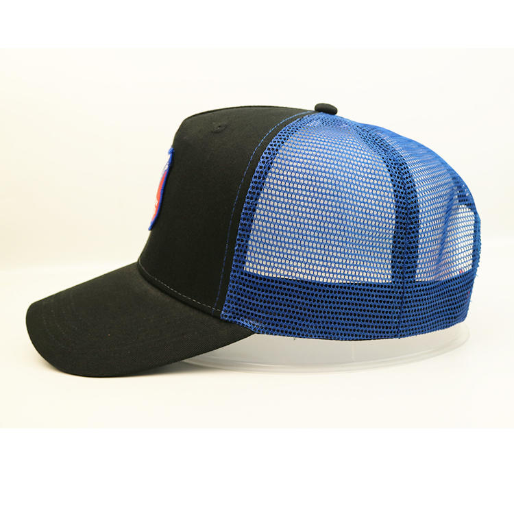 100% polyester mesh hat factory price distressed 5-panel mesh trucker cap baseball cap hat comfortable mesh sports cap