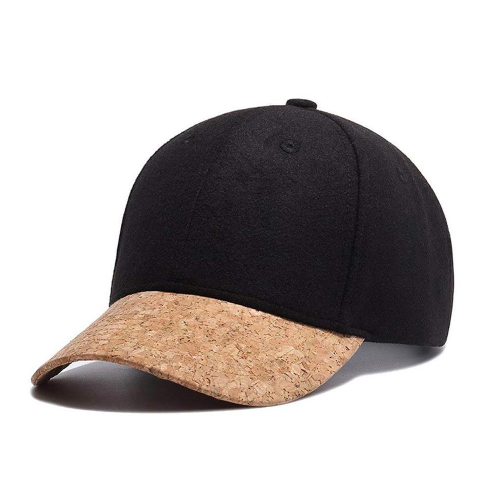 ACE baseball cap wood brim wholesale wood bill hats baseball cap with wood brim curve