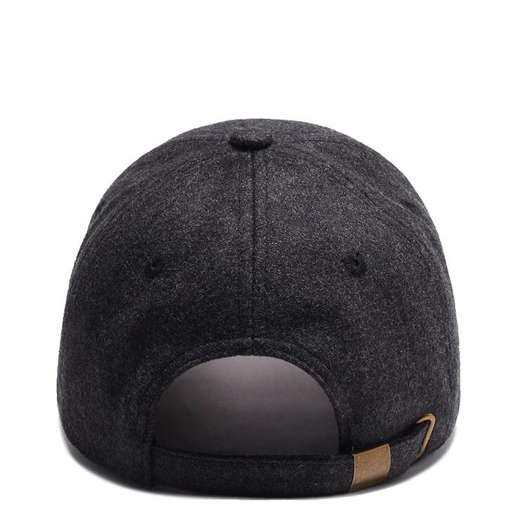 solid mesh logo baseball cap adult OEM for beauty-3
