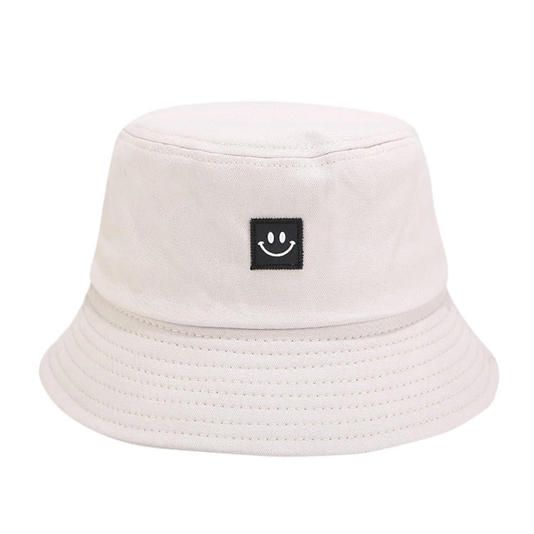Hot Sale Bucket Hat Unisex Adult Women Men Smile Print Muts Fisherman Hat Casquette Sunscreen Outdoors Cap Sombrero