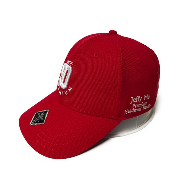 ACE black sports baseball cap free sample for fashion-2