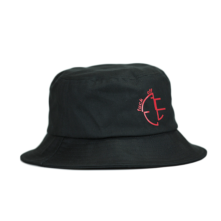 portable bucket hat fashion cotton free sample for beauty-3