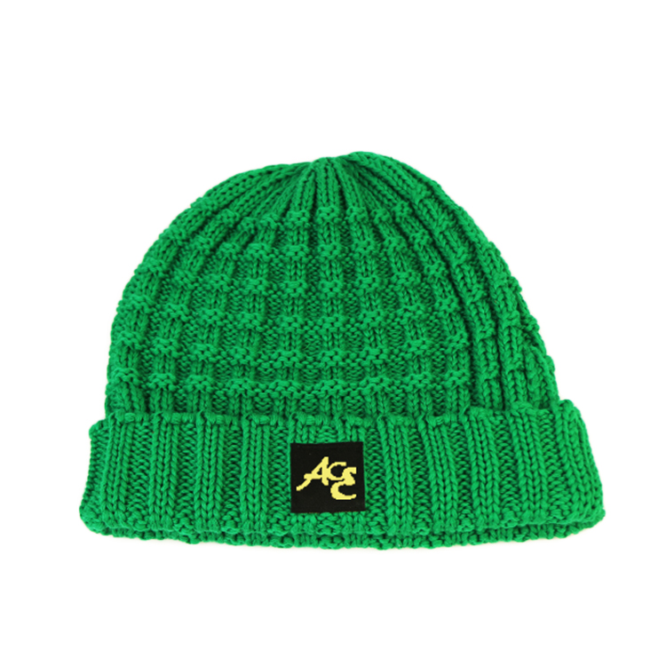 ACE latest black knit beanie free sample for fashion-1
