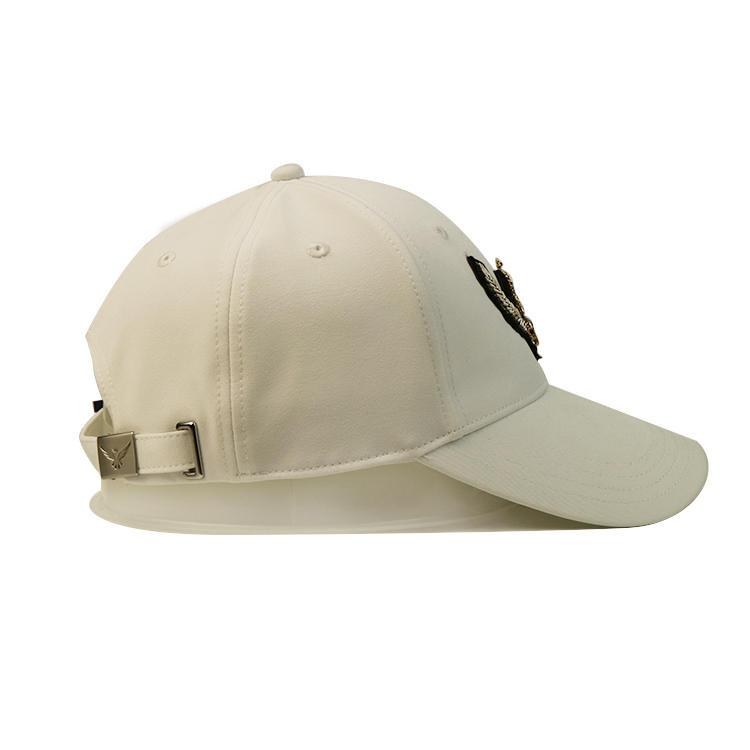 Fashion Custom Personalised 6panel White Blank Embroidery Jewelry Patch Baseball Caps Hats