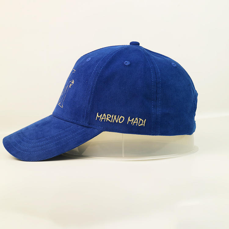 6panl blue Fashion Blank Women Men Baseball Caps Sports Hats With Logo