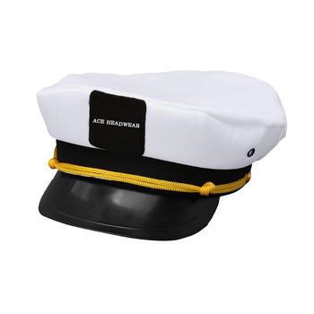 Hot Sales ACE Unisex Custom Embroidery Patch Logo Captain Cap / Adjustable Custom Back Closure