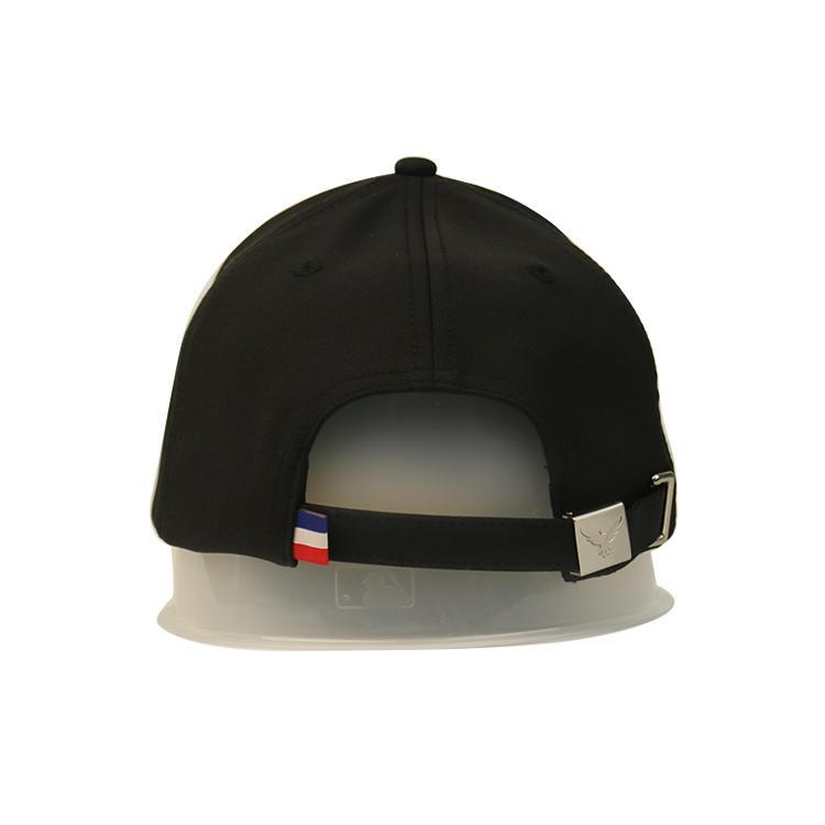 Fashionable Customize Design Black Decorative Embroidery Logo 6 Panel Baseball Sports Caps Hats