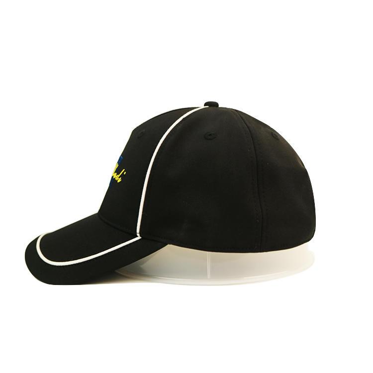Bsci Flat Embroidery Logo Baseball Cap Customization Cotton Fabric Made Adjustable Constructed Sport Hat