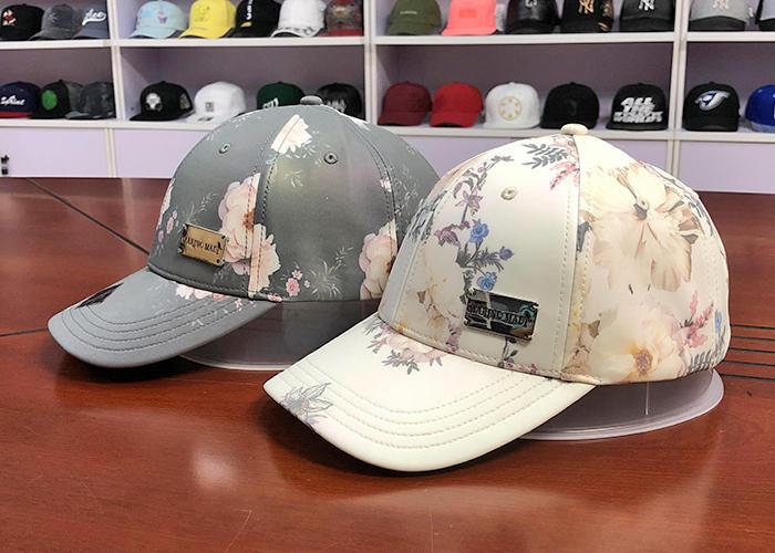 China Factory Custom Design Hat Printing Polyester Baseball Caps Sublimation Printed Baseball Cap