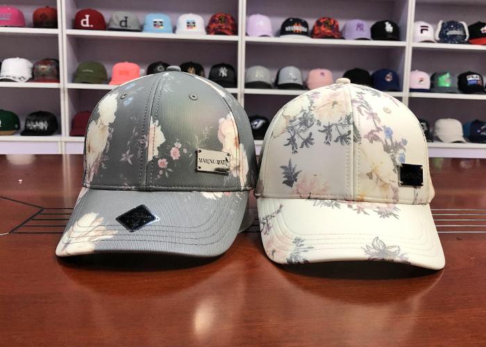 at discount logo baseball cap printing supplier for beauty-1