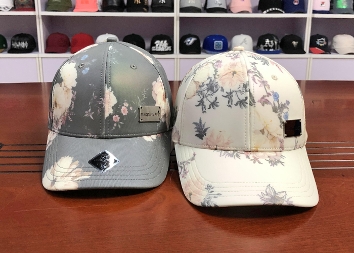 at discount logo baseball cap printing supplier for beauty-2