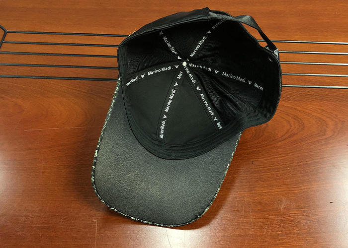 Wholesale High Quality Promotional Custom Logo Printing PU Leather Baseball Cap For Men