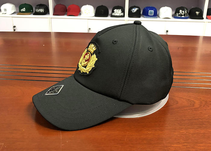 portable types of baseball caps gold bulk production for beauty