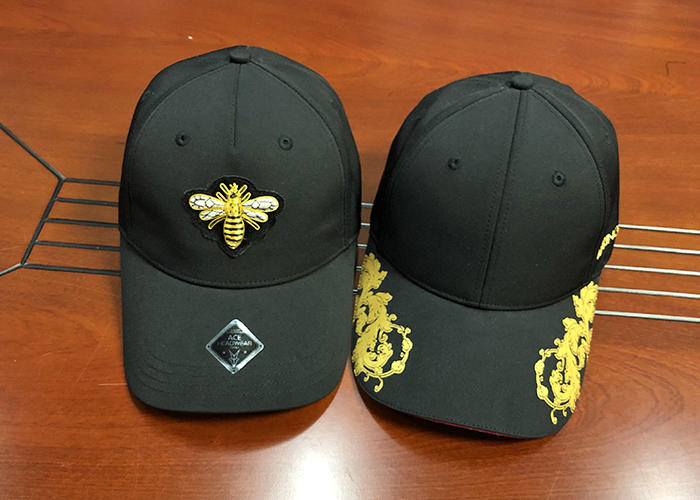 Professional Custom Made Cotton Twill 6 Panel Structured Sports Baseball Cap And Hat With Visor Printing