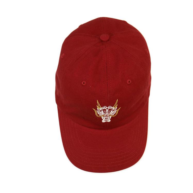 Wholesale promotional personalize design 6 panel embroidery dad cap, custom cheap dad hat