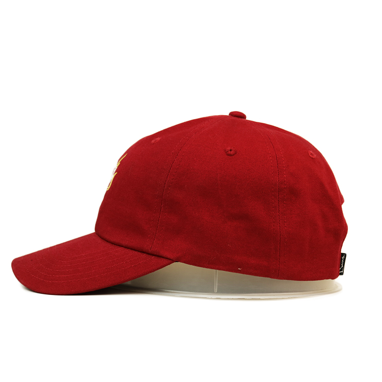Breathable baseball cap with embroidery curved ODM for baseball fans-3