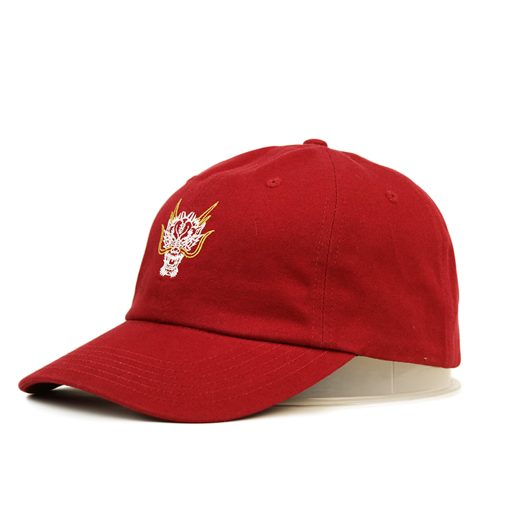 Breathable baseball cap with embroidery curved ODM for baseball fans-2