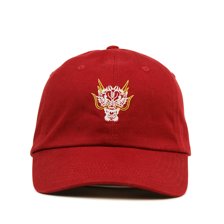 Breathable baseball cap with embroidery curved ODM for baseball fans-1