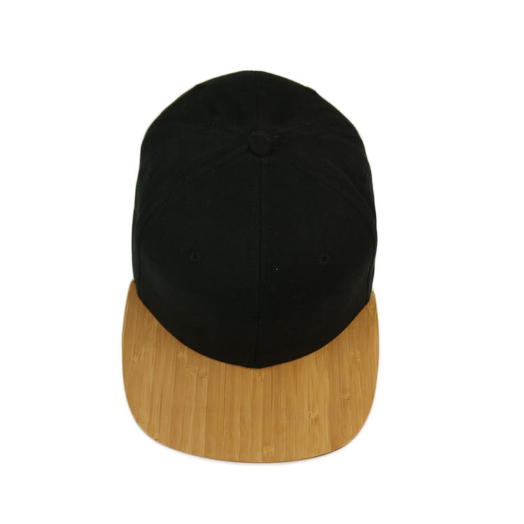 Ace High Quality Wool Grain Bill Peak Visor Custom Logo Soft Cotton Fabric Outdoor Snapback Cap Flat Brim Hat