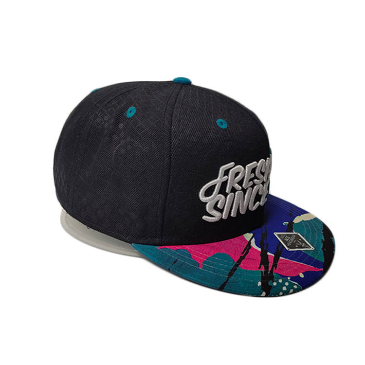 Breathable snapback hat brands 3d ODM for beauty-3