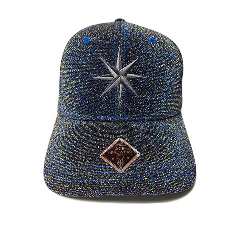 ACE peak black baseball cap OEM for baseball fans-1