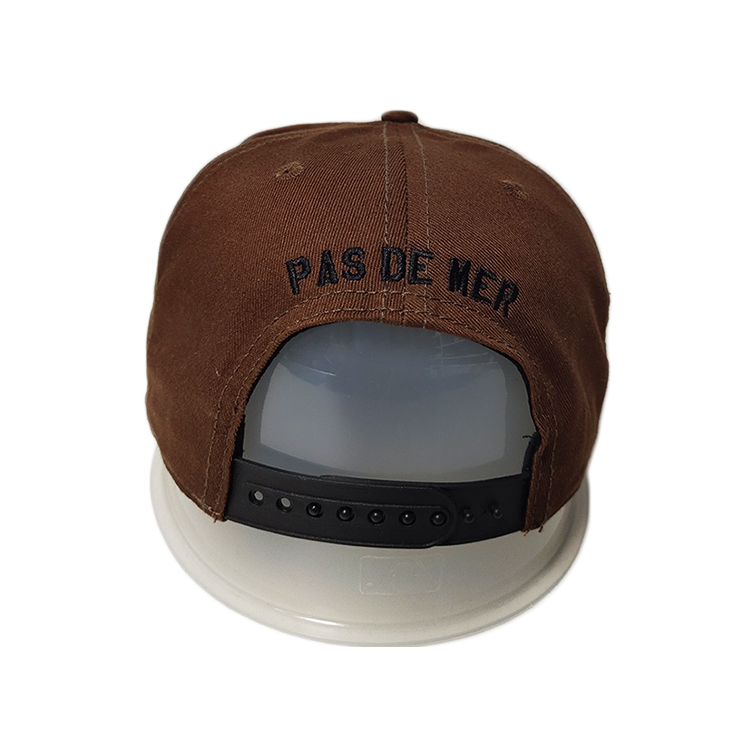 latest popular snapback caps embroidery get quote for fashion-3