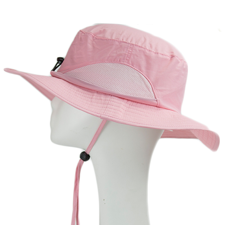 Breathable custom bucket hats 18sscap02 ODM for beauty-2
