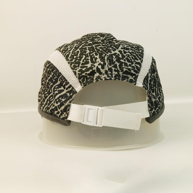 High Quality Blasting Cracks Breathable Adjustable With White Velcro Back Closure Sports Cap Hat