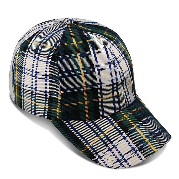 ACE New Fashionable stripe Unisex Red Black Winter Warm Plaid Baseball Caps Hats Womens Mens