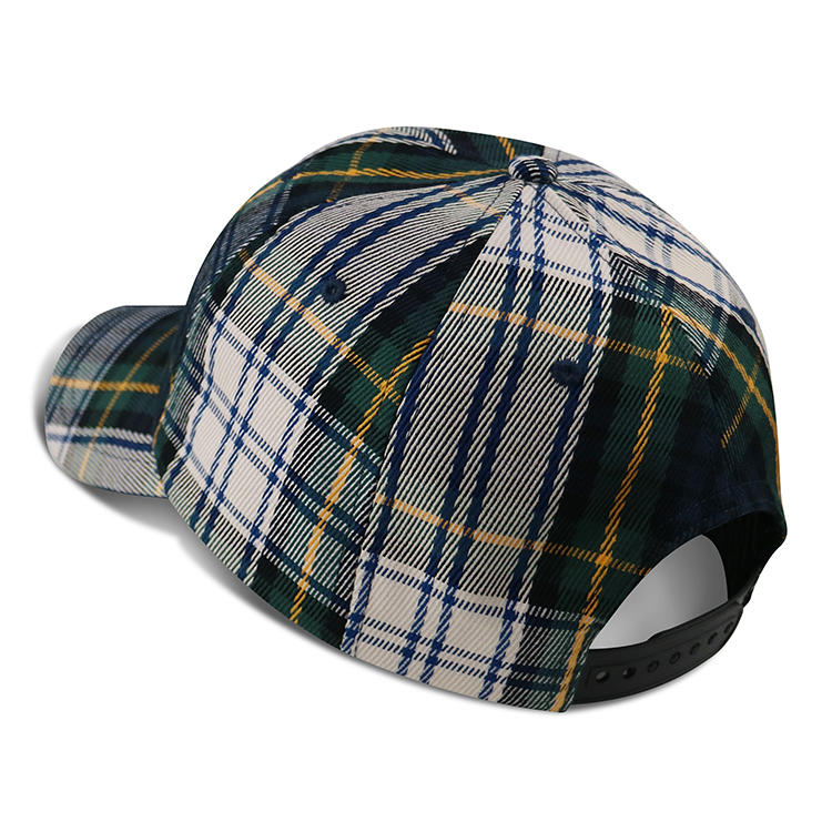 ACE New Fashionable stripe Unisex Red Black Winter Warm Plaid Baseball Caps Hats Womens Mens