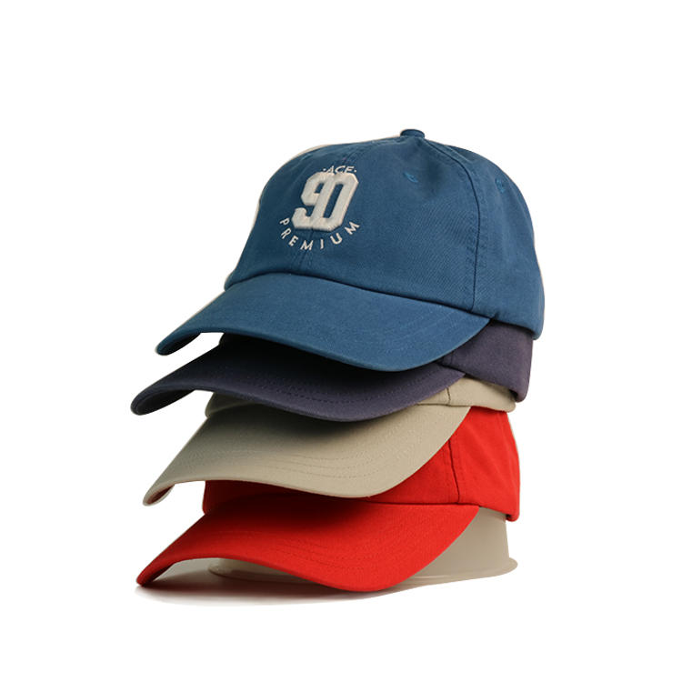 Own Brand Personalised 3d Puff Embroidery Custom Eco Friendly Baseball Caps With Metal Buckle Bsci