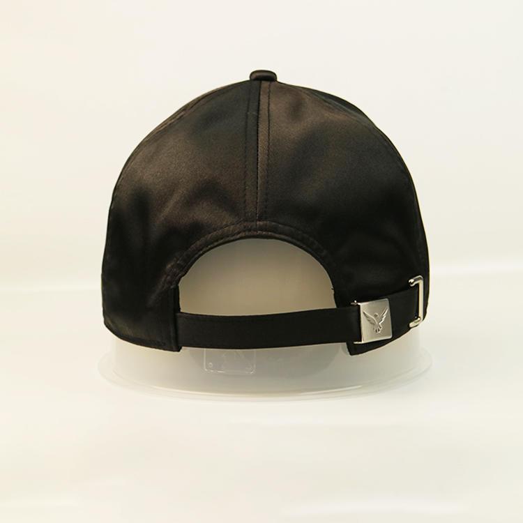 Wholesale Mens Blank Plain Black Custom Logo Baseball Cap Sports Cap Promotional Summer Hat