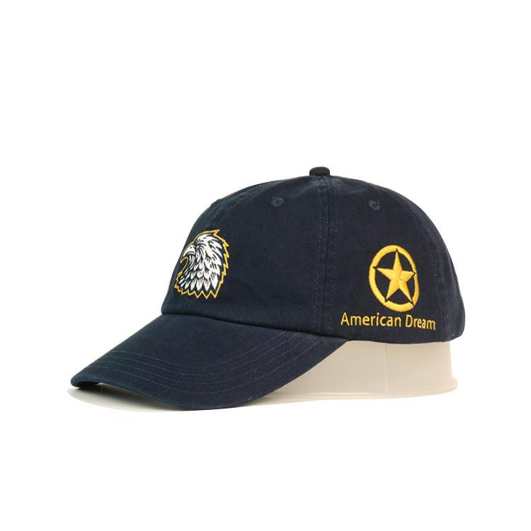 Golf Caps Low Moq 100% Cotton Baseball Cap Dad Hat Custom Embroidery Hats Cap Wholesale Bsci