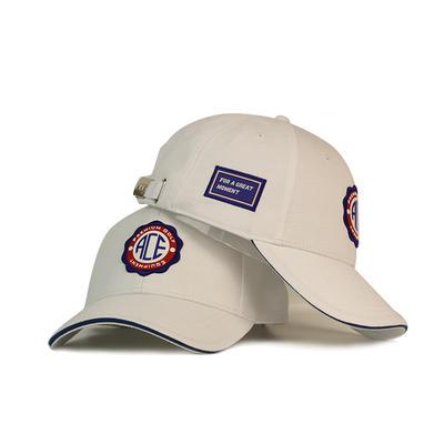 High Quality Custom Baseball Caps Rubber Patch Letter Sport Cap Hip Hop Casual Men Women White Hat Bsci