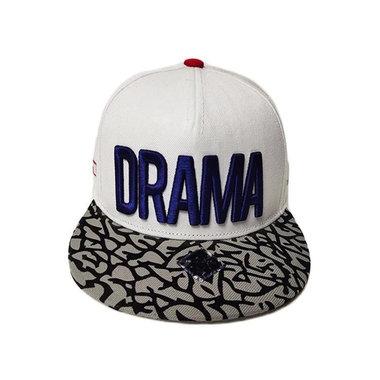 Snapback Man Summer Hat Leather Brim 3D Gold Brand Hip Hop Cap