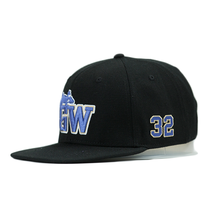 ACE tiger blue snapback hat free sample for fashion-5