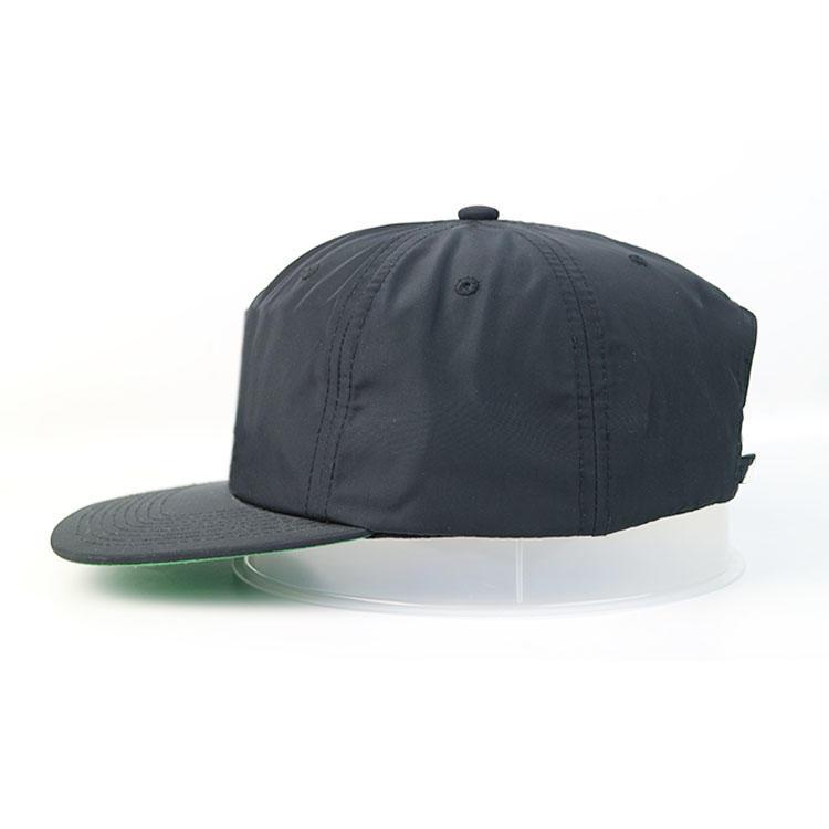 ACE New design Black Flat bill 5panel  Customized printing logo hip hop snapback Hats Caps