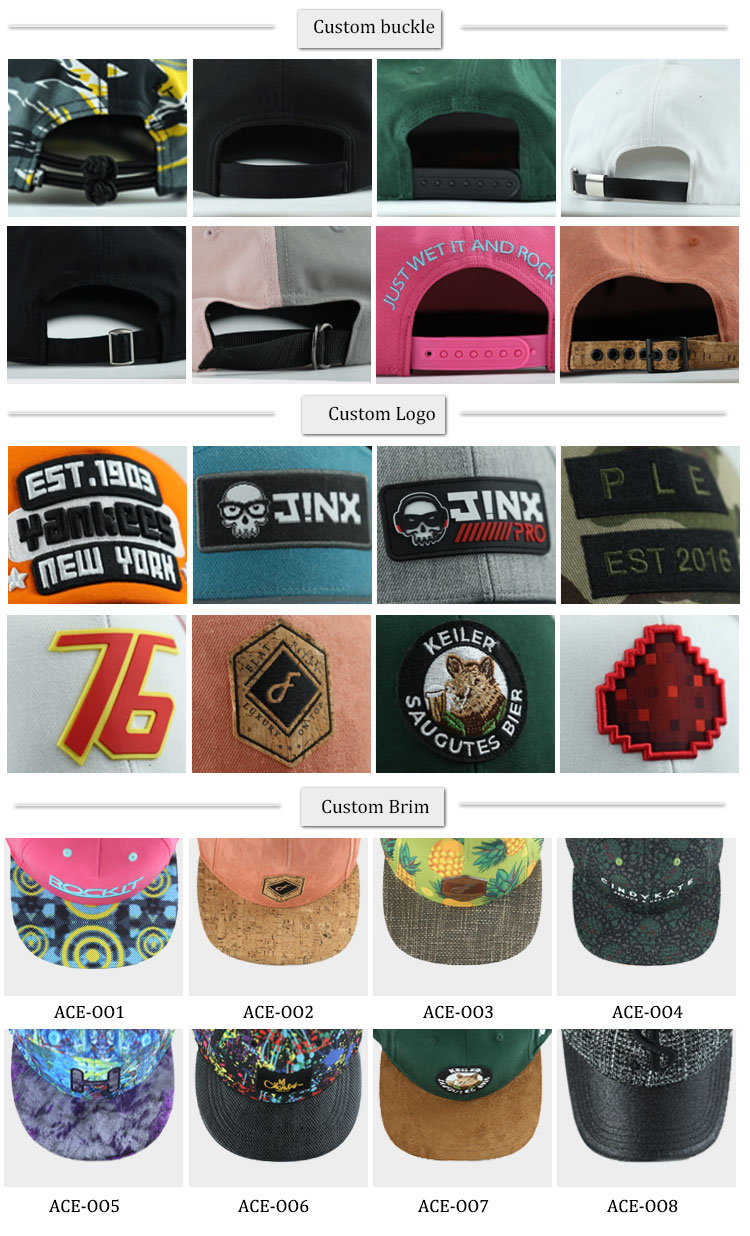 ACE portable custom baseball caps buy now for fashion-2