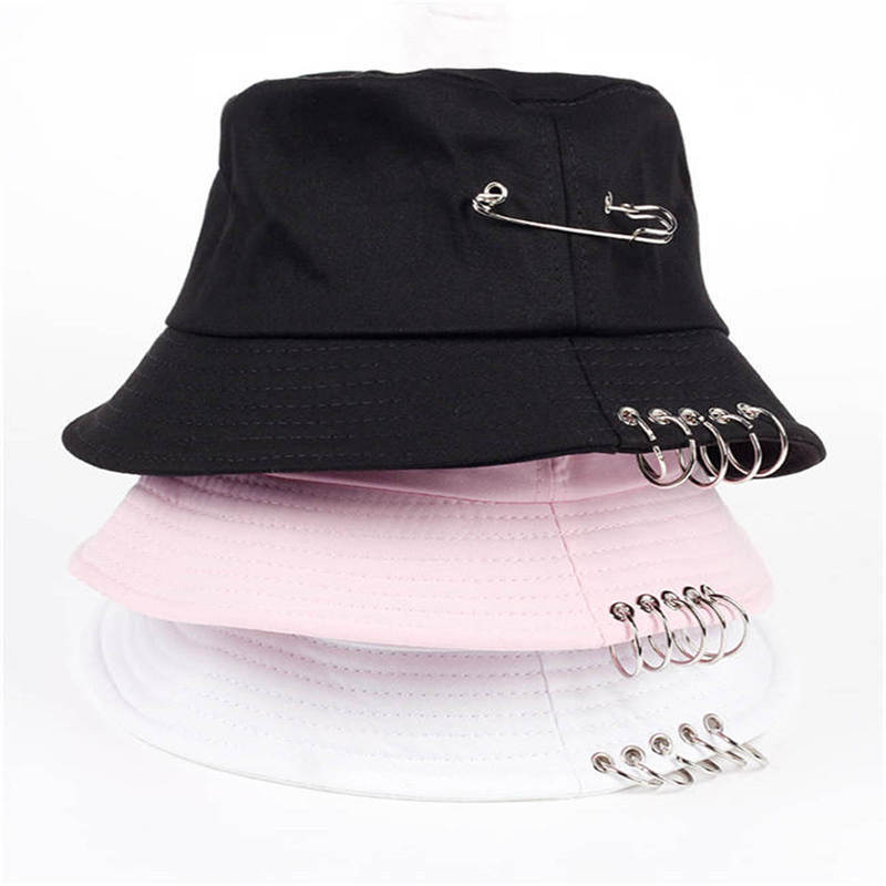ACE portable blue bucket hat bulk production for fashion