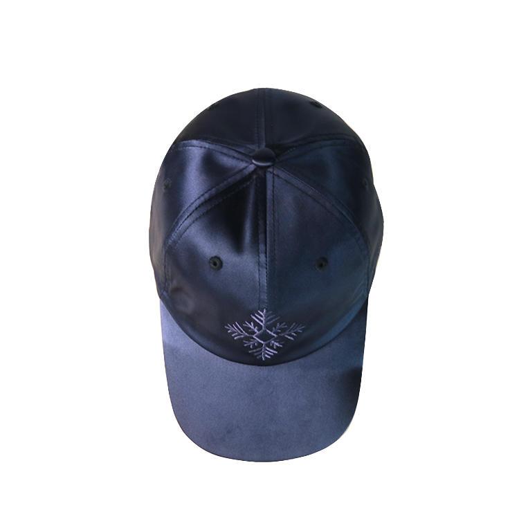 Professional custom satin baseball cap hat embroidered sports caps wholesales
