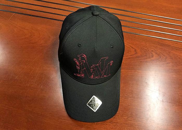 ACE printing plain baseball caps supplier for fashion