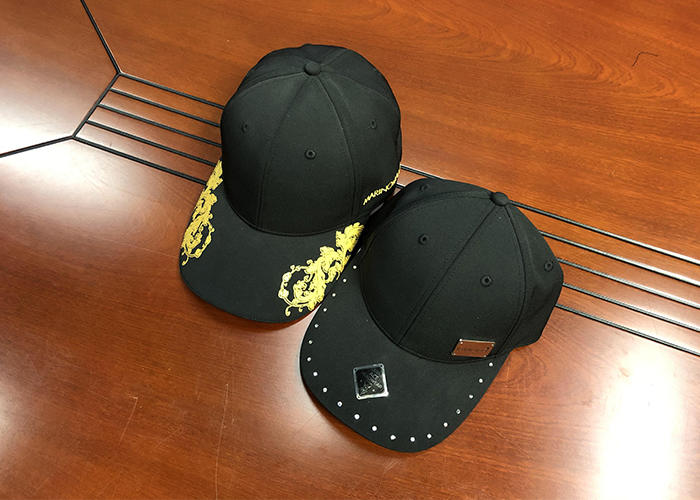 Professional custom made cotton twill 6 panel structured sports baseball cap and hat with Printing visor