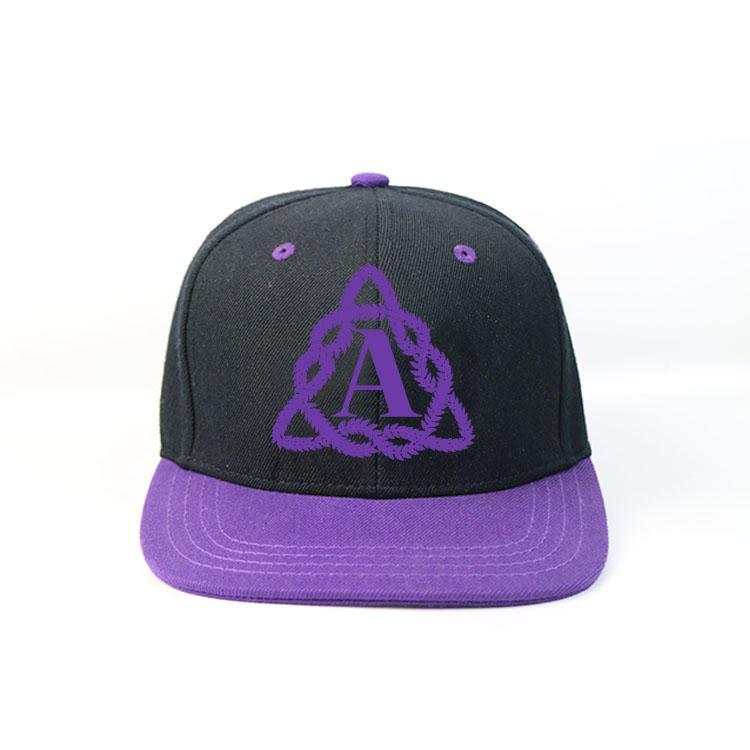 Ace Bsci Snapback Hats Custom Logo Flat Bill Cap With Plastic Buckle