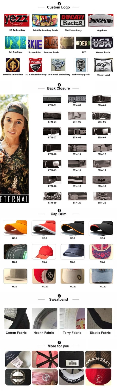 ACE at discount womens baseball cap customization for fashion-5