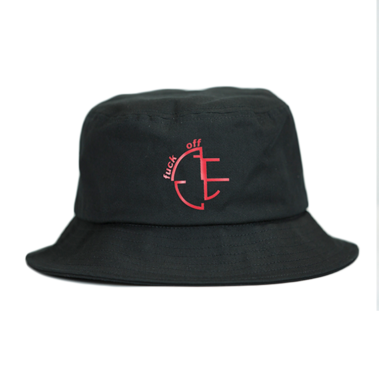 ACE on red bucket hat buy now for fashion-1