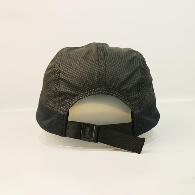 Wholesale Summer women and men's outdoor reflective bicycle cap sun protection custom sports cap