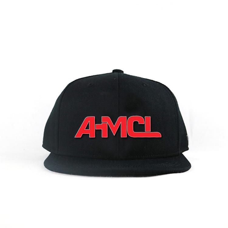 Flat bill 5panel  Customized 3D Printing letter logo hip hop snapback Hats Caps