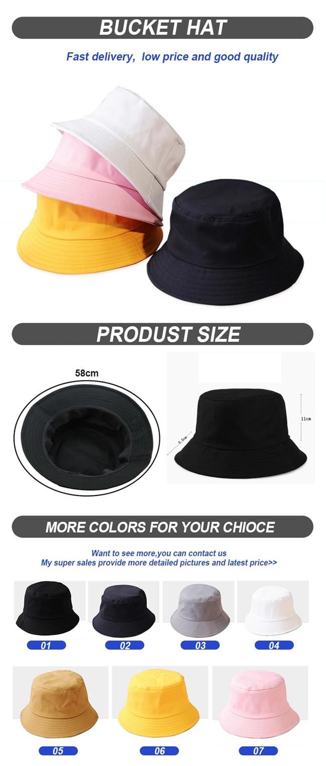 ACE durable custom bucket hats customization for fashion-8