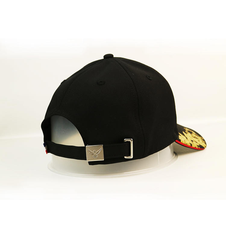 Polyester Embroidery Baseball Cap Adjustable Fits Constructed sandwich Hat